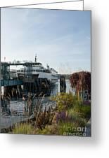 Bremerton Wa Ferry Doc Greeting Card
