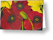 Brenda's Poppies Greeting Card
