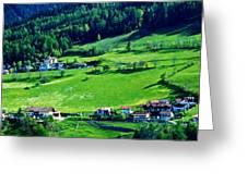 Brenner Pass Greenery Greeting Card
