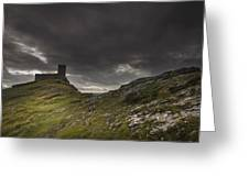 Brentor Church Dartmoor Devon Uk Greeting Card