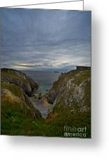 Bretagne Cliffs Greeting Card