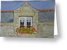 Bretagne Window Greeting Card