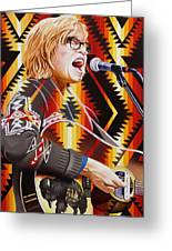 Brett Dennen Greeting Card