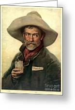 Brewery Ad 1889 Greeting Card by Padre Art