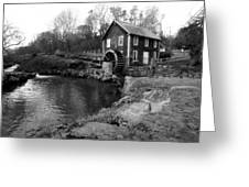 Brewster Grist Mill Greeting Card