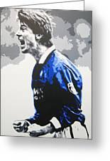 Brian Laudrup - Glasgow Rangers Fc Greeting Card