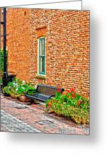 Brick Alley 3 Greeting Card by Baywest Imaging