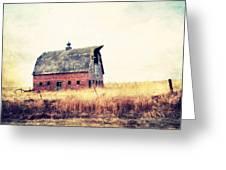 Brick Barn Ll Greeting Card