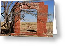 Brick Entry 1 Greeting Card