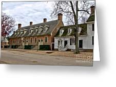 Brick House Tavern In Williamsburg Greeting Card