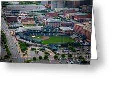 Bricktown Ballpark D Greeting Card by Cooper Ross