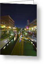 Bricktown Canal Water Taxi Greeting Card