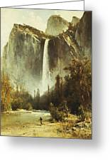 Bridal Falls Greeting Card