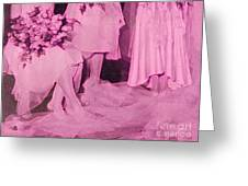Bridal Pink By Jrr Greeting Card