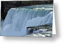 Bridal Veil Falls Greeting Card