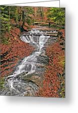 Bridal Veil Waterfall Greeting Card