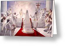 Bride Of Christ Greeting Card