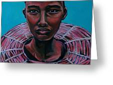 Bride - Portrait African Greeting Card
