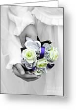 Bridesmaid Bouquet Greeting Card