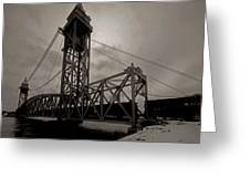 Bridge Again Greeting Card