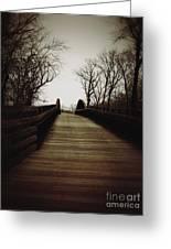 Bridge Ahead Greeting Card