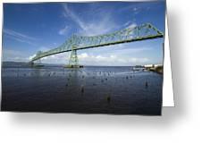 Bridge Astoria Or 2 A Greeting Card