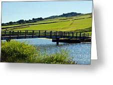 Bridge At Charmouth Greeting Card