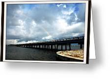 Bridge Greeting Card by Bruce Kessler