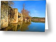 Concrete Trestle Bridge Greeting Card