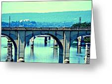 Bridge Of Arches Greeting Card