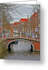 Bridge Of Delft Greeting Card
