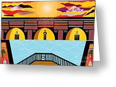 Bridge Of Hope Greeting Card