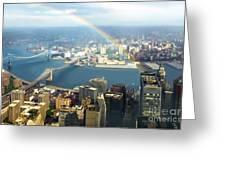 Bridge Of Light - In Loving Memory Greeting Card