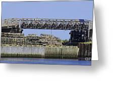 Bridge Of Pots Greeting Card