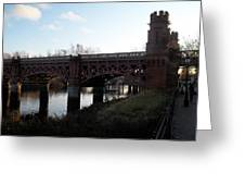 Bridge On The Firth Of Clyde Greeting Card