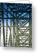 Bridge Over Astoria Greeting Card