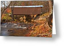 Bridge Over Smith River Greeting Card