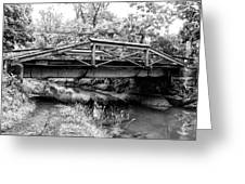 Bridge Over The Delaware Canal At Washington's Crossing Greeting Card