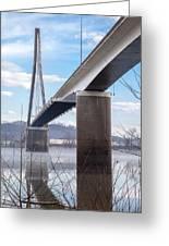 Bridge Over The Mist Greeting Card