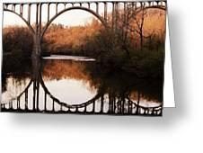 Bridge Over The River Cuyahoga Greeting Card