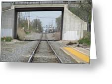 Bridge Overpass Greeting Card