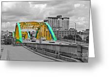 Bridge Pop Greeting Card