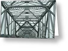 Bridge Structures Greeting Card