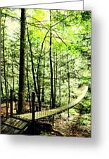 Bridge To Beauty Greeting Card