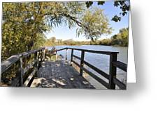 Bridge To Beyond Greeting Card
