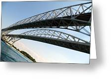 Bridge To Canada 02 Greeting Card