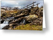 Bridge To Idwal Greeting Card