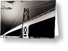 Bridge To Poughkeepsie 2 Greeting Card