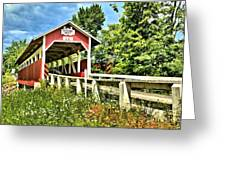 Bridge To Yesterday Greeting Card