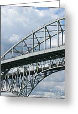Bridge Traffic Greeting Card